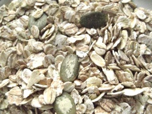 Хлопья овсяные 7 злаков с тыквенными семечками 600 гр