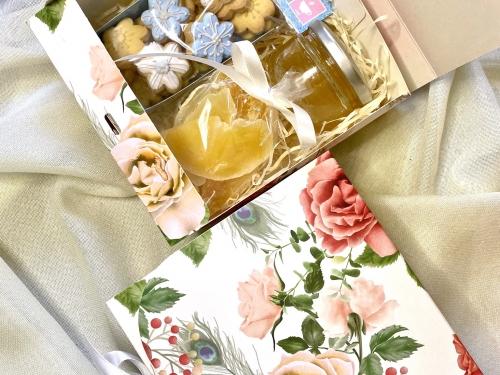 Цветочный подарочный набор