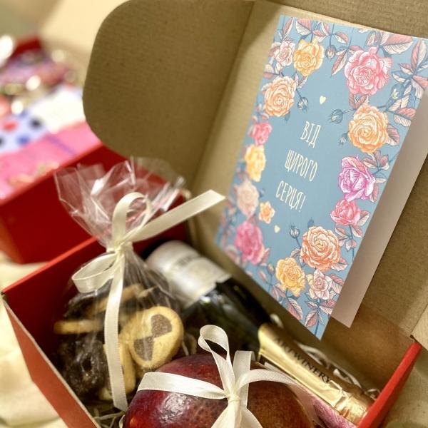 Подарочный набор с манго и шампанским