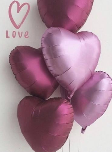 Воздушные шары, открытки