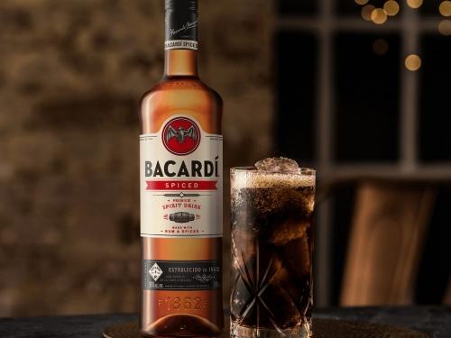 Ром BACARDI Spiced 1л
