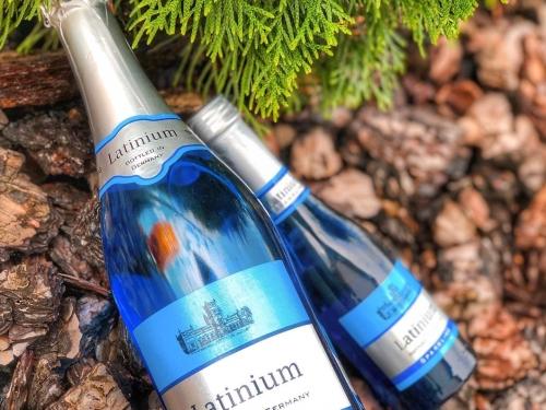 Шампанское Latinium белое полусладкое 750 мл