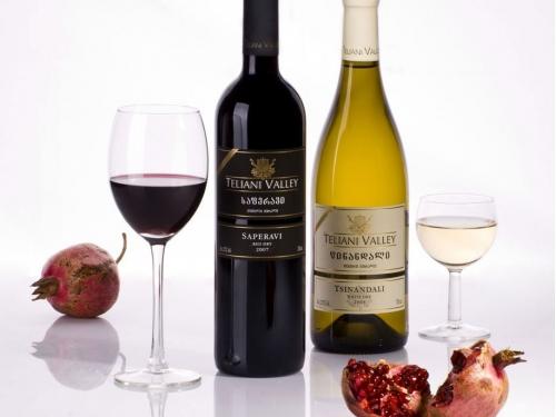 Вино Teliani Valley Саперави  красное сухое 750 мл