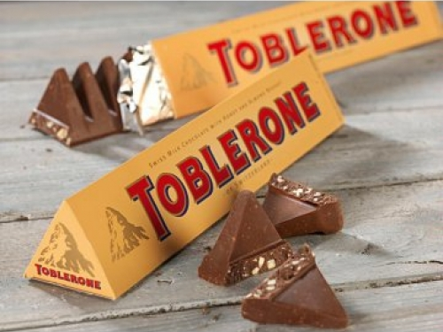 Шоколад Toblerone с мёдом и миндальной нугой (Швейцария) 100 гр