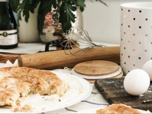Пирог с телятиной из вытяжного теста Филло 550 гр
