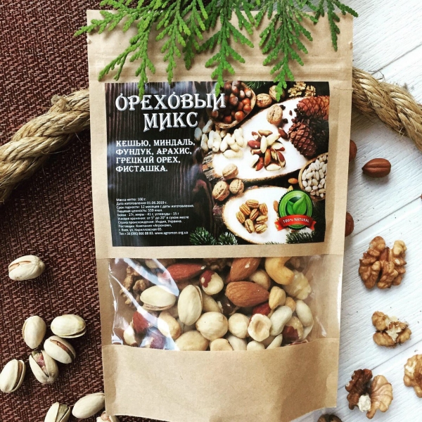 Ореховый микс 100 грм
