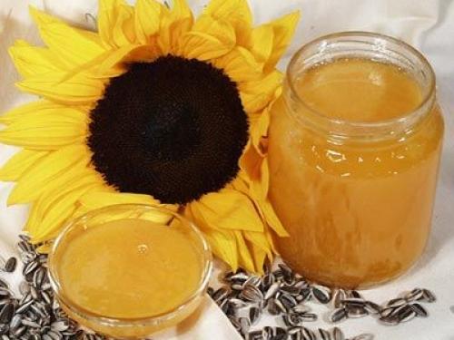 Мед подсолнуха 250 гр