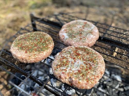 Котлеты для бургеров заморозка (свинина/говядина, специи)
