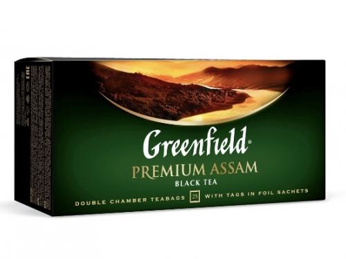 Чай чёрный Greenfield в пакетиках 25 шт