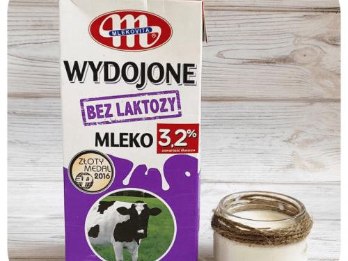 Молоко безлактозное 1л (Польша)