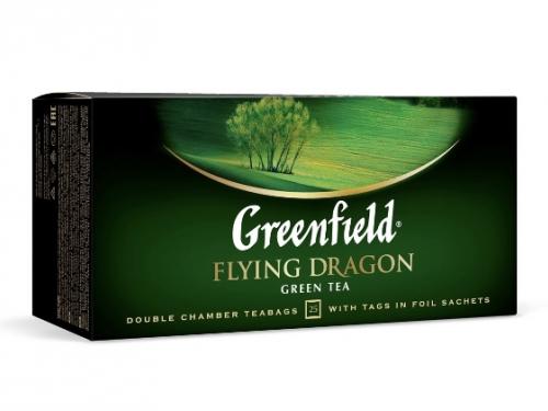 Чай зелёный Greenfield в пакетиках 25 шт