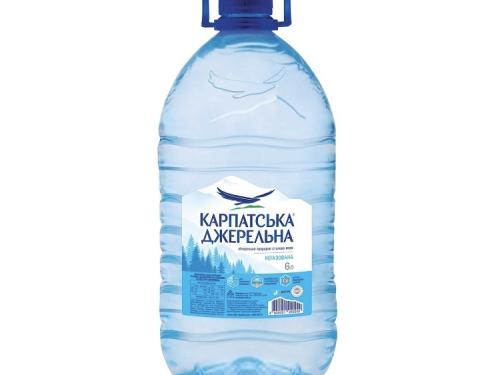 Вода Карпатська джерельна 6 л