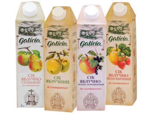 Сок томатный Galicia 1l
