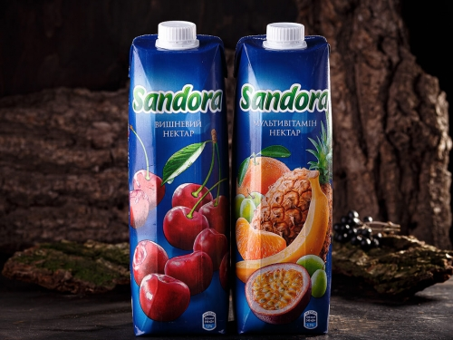 Нектар вишневый Sandora 1l