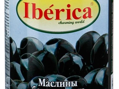 Маслины без косточек Iberica 420 гр
