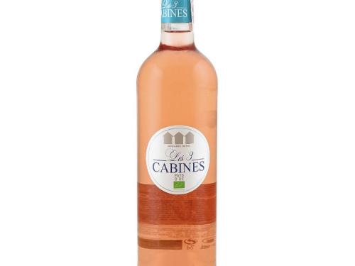 Розовое сухое вино 12.5% Organic (Франция)