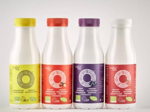 Йогурт 2.5% Organic Milk 300 гр