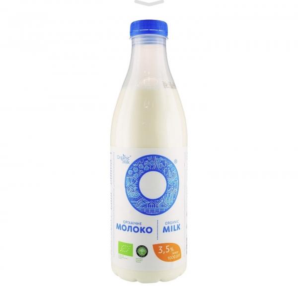 Молоко 3.5% жирность Organic 1л