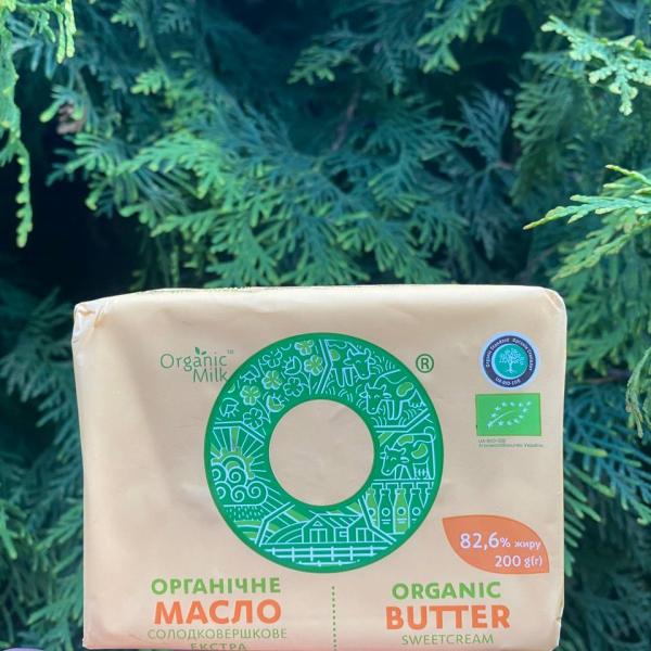 Масло 82.6% Organic Milk 200 гр