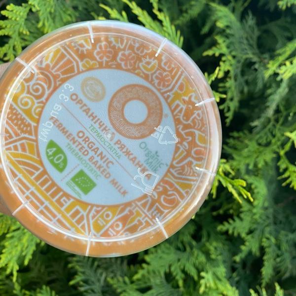 Ряжанка 4% Organic Milk 270 гр