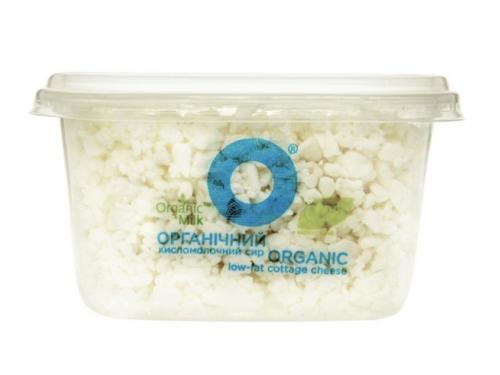 Творог нежирный 0.2% Organic Milk 300 гр
