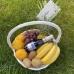 Корзина фруктов 5 кг с виноградом