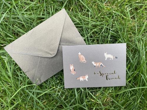 Поздравительная открытка To my friend