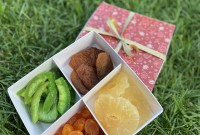Подарочный набор «Шахерезада» 400 гр (ананас, кумкват, персик, памело)