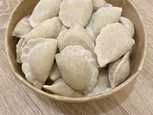 Вареники с картошкой и шкварками 500 гр