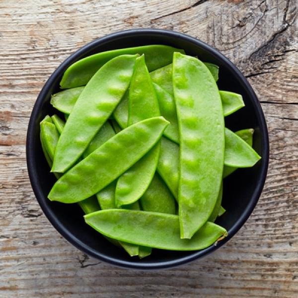 Зелёный горошек в стручках (250 грамм упаковка)