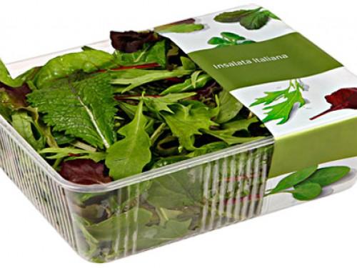 Салат mix (руккола, шпинат, мангольд, корн) 125гр